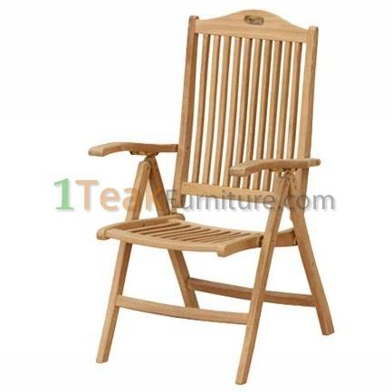 Teak Modiv Reclining Chair