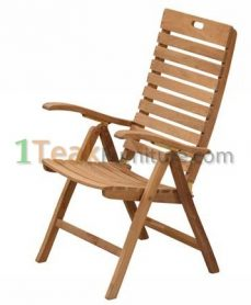 Teak Classic Reclining Chair