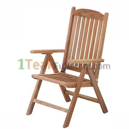 Teak Aston Reclining Chair