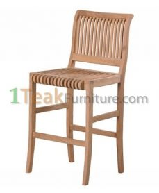 Teak Nova Bar Chair