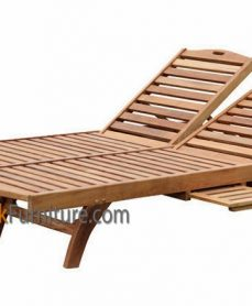 Double Jepara Lounger