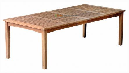 Teak Rectangular Dining Table