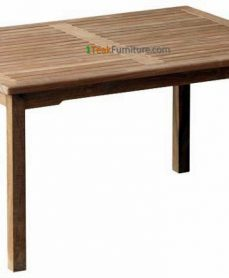 Teak Rectangular Dining Table 150 x 90