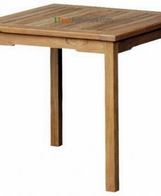 Teak Square Dining Table 80 x 80