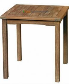 Teak Square Dining Table 70 x 70