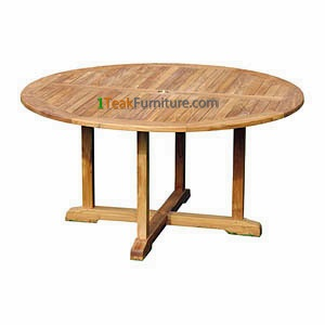 Teak Round Bistro Table 140