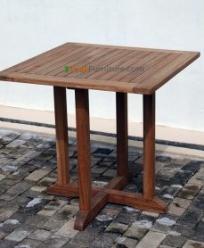 Teak Square Bistro Table 100