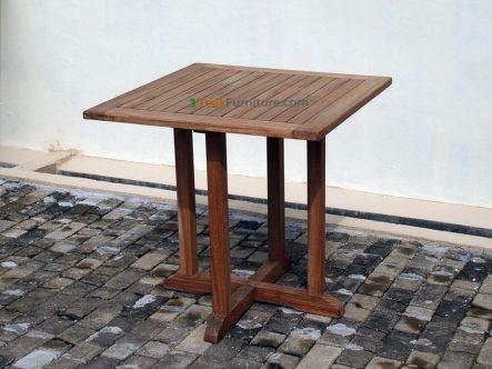 Teak Square Bistro Table 100
