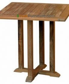Teak Square Bistro Table 80