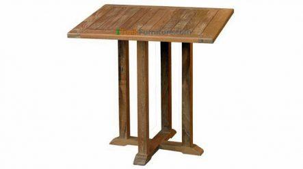 Teak Square Bistro Table 80