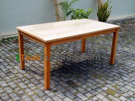 Big Slat Rectangular Table 160 x 100