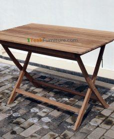 Teak Sate Folding Table