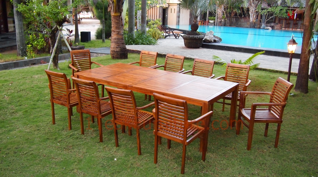 Outdoor patio furniture manufacturers teak furniture for Garden furniture manufacturers