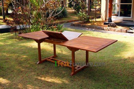 Teak Oiled Rectangular Ext. Table 240