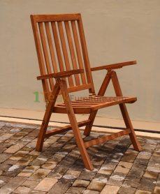 Teak Reclining Chair