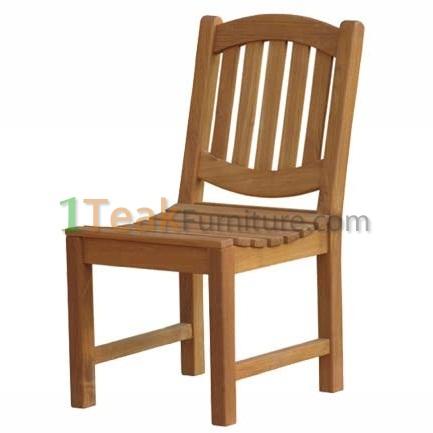 Teak Oval Java Chair