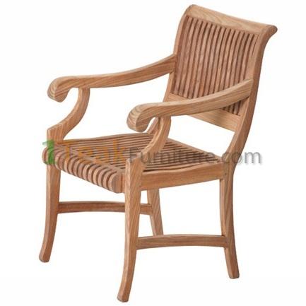 Teak Nova Arm Chair