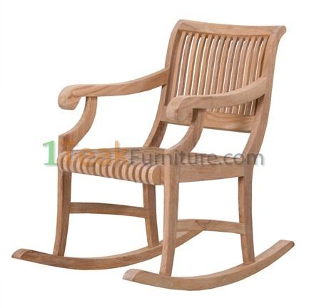 Teak Nova Rocking Arm Chair