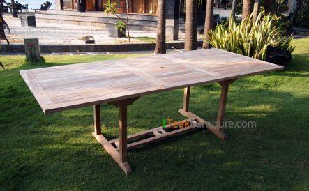 Teak Rectangular Extend Table 180-240 / 120