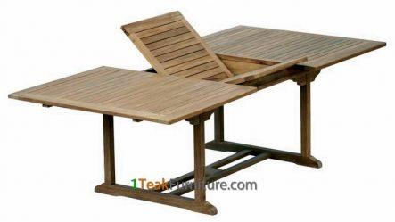 Teak Rectangular Extend Table 180-240 / 100