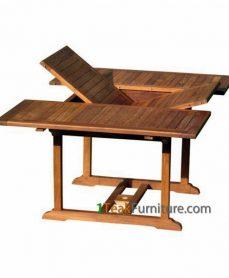 Teak Rectangular Extend Table 120-170 / 120
