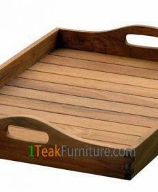 Nampan Teak Tray