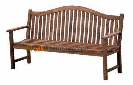 Teca Jardin Bench 180