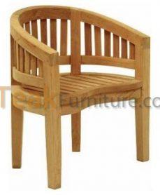 Teak Peanut Chair