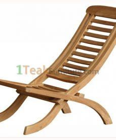 Teak Relax Folding Chair