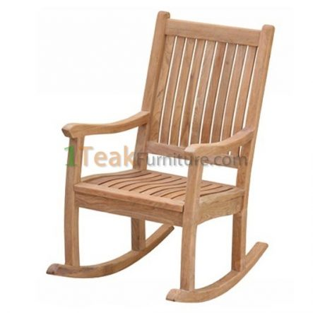 Teak Alfa Rocking Chair