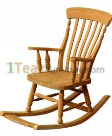 Teak Queen Rocking Chair