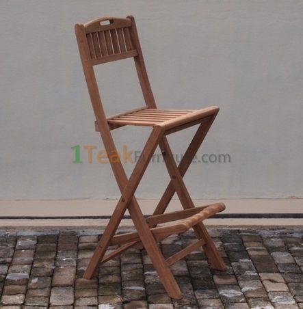 Teak Bar Chair
