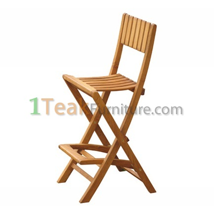 Teak Bali Bar Chair