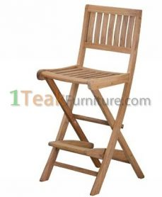 Teak Denpasar Bar Chair