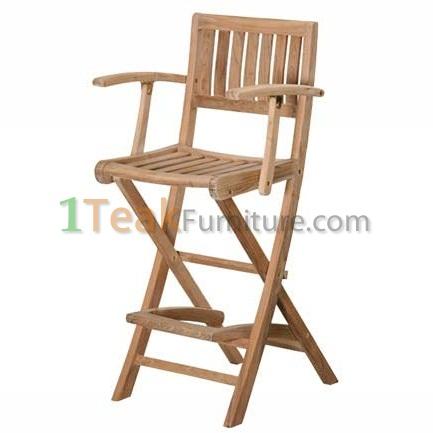Teak Denpasar Bar Arm Chair