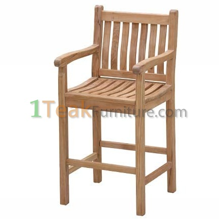 Teak Sanur Bar Arm Chair