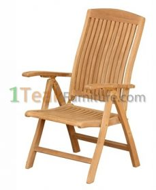 Teak Audia Reclining Chair