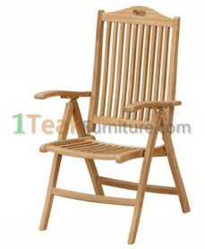 Teak Modiv Reclining Chair