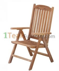 Teak Aston Reclining Chair
