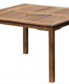 Teak Square Dining Table 120 x 120