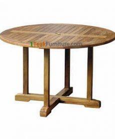 Teak Round Bistro Table 120