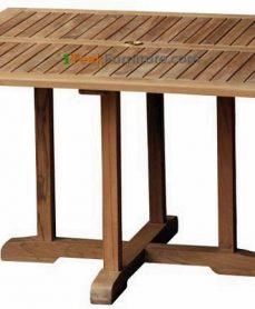 Teak Square Bistro Table 140