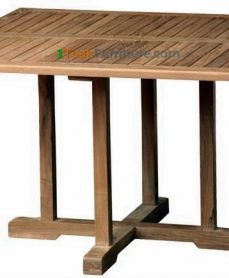 Teak Square Bistro Table 120