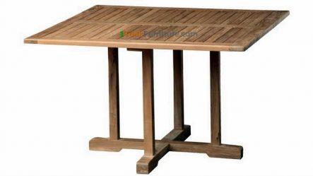 Teak Square Bistro Table 120
