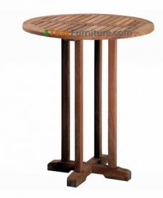 Jati Round Bar Table 80