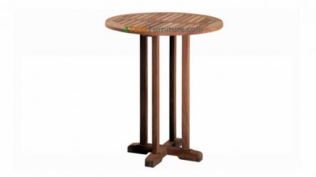 Jati Round Bar Table 80