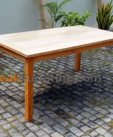 Big Slat Rectangular Table 160 x 100
