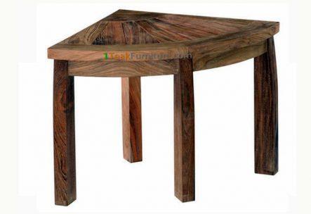 Teak Small Corner Table