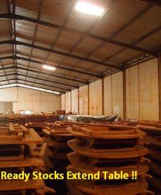 Ready Stocks Extend Table